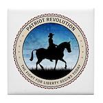 Patriot Revolution Tile Coaster
