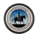 Patriot Revolution Large Wall Clock
