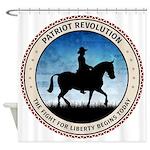 Patriot Revolution Shower Curtain