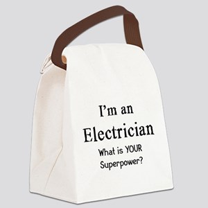 electrician Canvas Lunch Bag