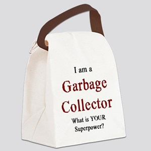 garbage collector Canvas Lunch Bag