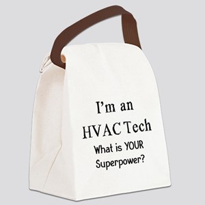 hvac tech Canvas Lunch Bag
