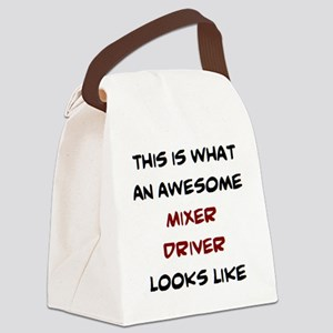awesome mixer driver Canvas Lunch Bag