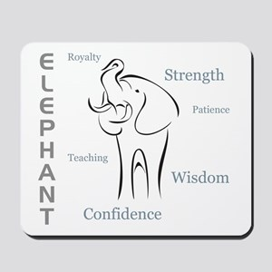 Elephant Totem Mousepad