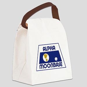 Moonbase Alpha Canvas Lunch Bag