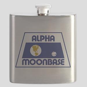 Moonbase Alpha Flask