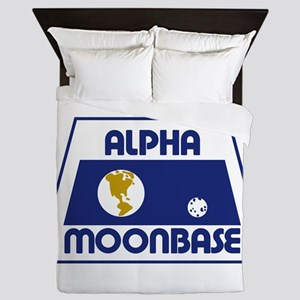 Moonbase Alpha Queen Duvet