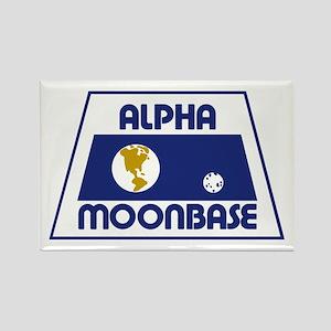 Moonbase Alpha Rectangle Magnet