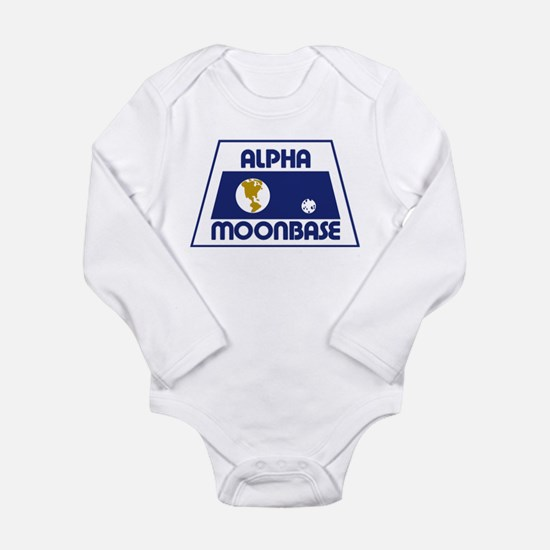 Moonbase Alpha Long Sleeve Infant Bodysuit
