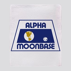 Moonbase Alpha Throw Blanket