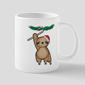 Holiday Sloth Mugs