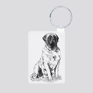 Mastiff Sitting Keychains