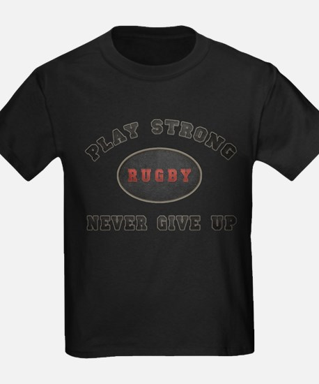 Rugby Play Strong T