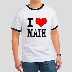 I Heart (Love) Math Ringer T