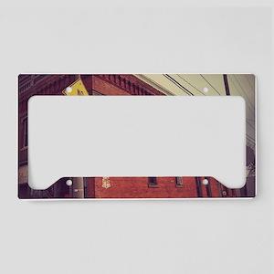 Antique Alley License Plate Holder