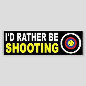 SHOOTING Bumper Sticker