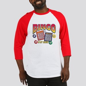 Bingo Is My Game Baseball Jersey