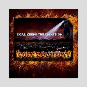 Coal Country Queen Duvet