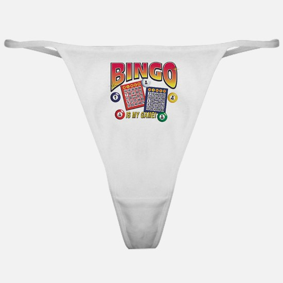 Bingo Is My Game Classic Thong