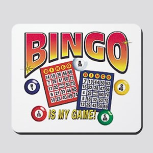 Bingo Is My Game Mousepad