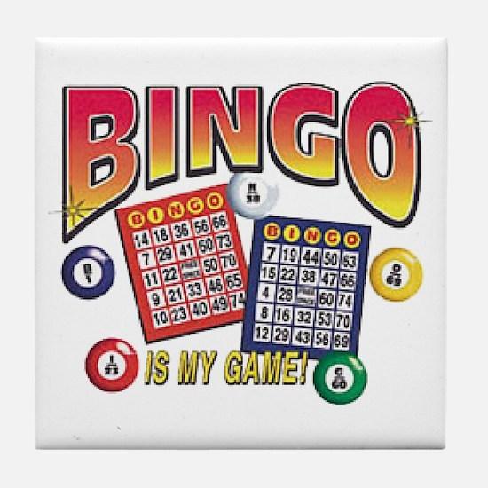 Bingo Is My Game Tile Coaster