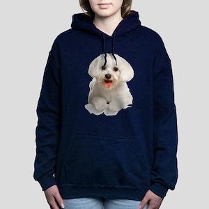 bichon2 Hooded Sweatshirt