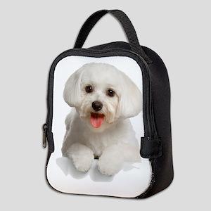 bichon2 Neoprene Lunch Bag