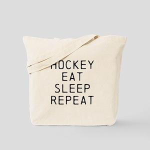 Hockey Eat Sleep Repeat Tote Bag