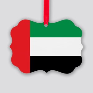 UAE Flag Picture Ornament