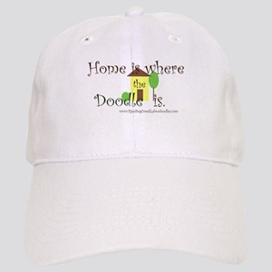 Home Is Where The Doodle Is Baseball Cap