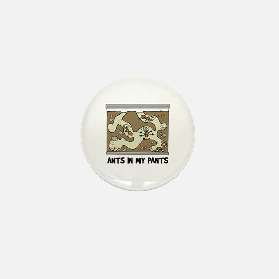 Ant Farm Mini Button