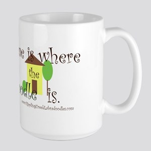 Home Is Where The Doodle Is Mugs