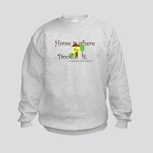 Home Is Where The Doodle Is Sweatshirt