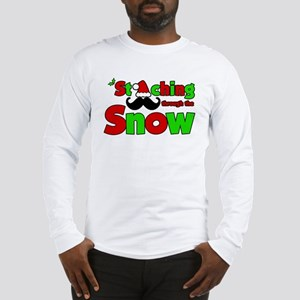 Staching Through the Snow Long Sleeve T-Shirt