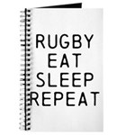 Rugby Eat Sleep Repeat Journal