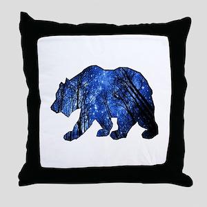BEAR NIGHTS Throw Pillow