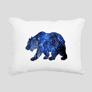 BEAR NIGHTS Rectangular Canvas Pillow