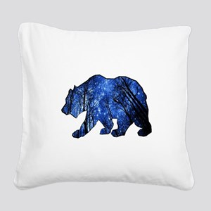 BEAR NIGHTS Square Canvas Pillow