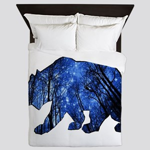 BEAR NIGHTS Queen Duvet
