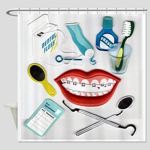 Dentist Shower Curtain