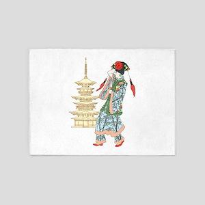 Pagoda Princess 5'x7'Area Rug