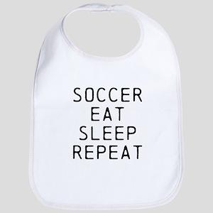 Soccer Eat Sleep Repeat Bib