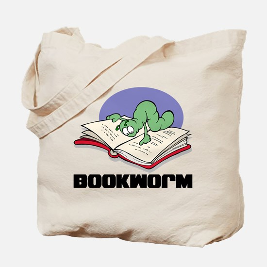 Bookworm Book Lovers Tote Bag