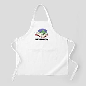 Bookworm Book Lovers BBQ Apron