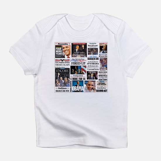 Pro Obama Victory Collage Infant T-Shirt