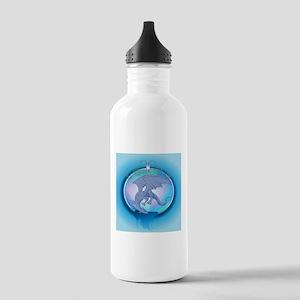 The blue dragon Water Bottle