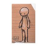Standing guy Sticker (Rectangle)