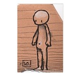 Standing guy Postcards (Package of 8)