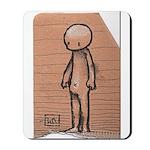 Standing guy Mousepad