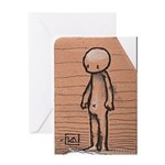 Standing guy Greeting Card